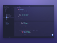 code editor redesign