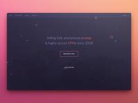 VPN splash page