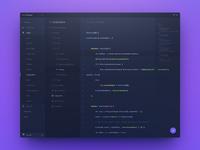 code editor design