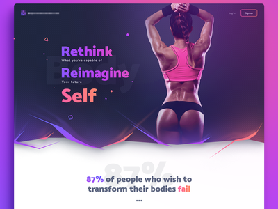 landing page uidesign website ui design user interface website design webdesign web design landing page fitness site landing web interface responsive page main company material design ui