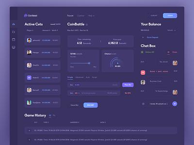 Dashboard code cryptocurrency crypto token ico coin design ui dashboard