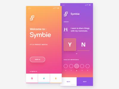 Mobile UI - Crypto app