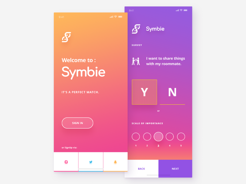 Mobile UI - Crypto app interace user bitcoin btc coins image hero signup currency cryptocurrency coin crypto login application page landing mobile design ui app