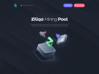 Landing Page Mining Pool