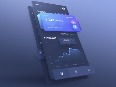 3D effect, UI design - speed art crypto currency payment money transfer coins money mobile ux app application wallet app wallet cryptocurrency blockchain user interface crypto dashboard interface design ui
