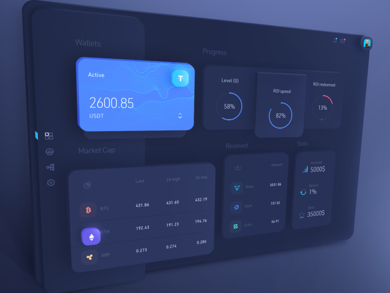 Dashboard user interface btc user interface transaction coins blockchain cryptocurrency crypto interface ui app applicaiton application design figma ui  ux user interface ui user interfaces dashboard app dashboard dashboard ui