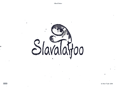 SlavaTattoo tattoo branding logo логотип брендинг