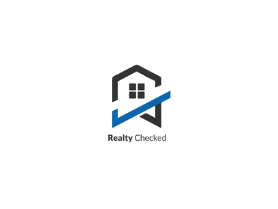 Realty Checked logos brand design branding and identity wordmark logomark type illustration brand identity minimal logo design branding