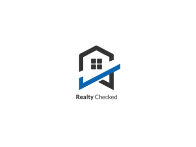 Realty Checked logos brand design branding and identity wordmark logomark type illustration brand identity minimal logo design branding