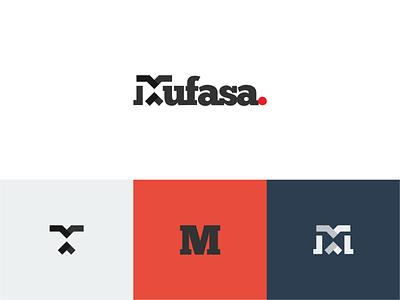Mufasa brand design logomark wordmark typography brand identity minimal logo illustration design branding
