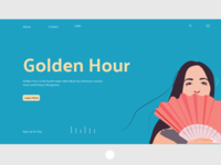 Golden Hour Landing Page