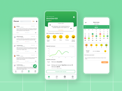 Relisa - Connect with Stranger concept minimal simple green figma graphic design digital android ios interface dailyui app design uiux ui ux mobile design art app dribbble