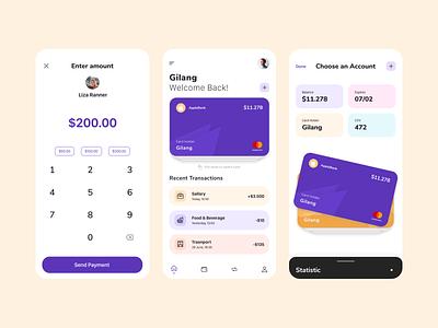 Finance Apps - Wall-E dribbble app art design ux ui uiux mobile appdesign dailyui interface ios android digital graphic design figma simple minimal concept