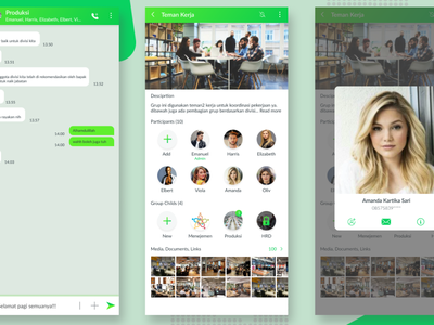 Whatsapp Redesign Group Child simple ui redesign group ux whatsapp case study