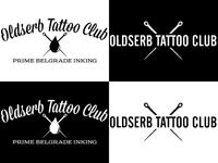 Oldserb Tattoo Club -logo tests
