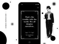. Chaplin Quote