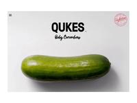 Qukes Website Menu Transition Concept