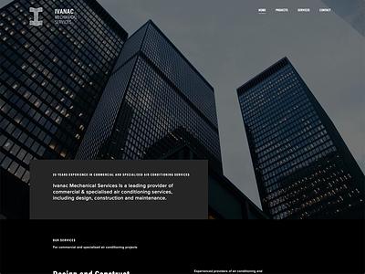 Ivanac Mechanical Rebound interaction design web developement web design rebound completed