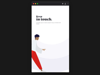 Keep In Touch - Social Media Redesign