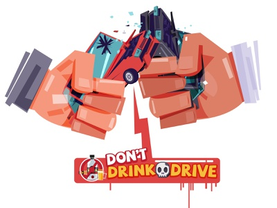 Drink don't drive hit cheers poster drive drink beer