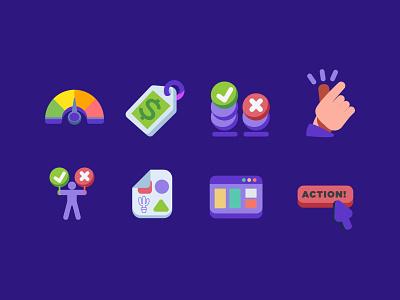 Summary Box elements  for lasso vector design branding angkritth ui illustration icon design icon
