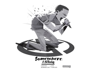 Goodbye my youth myyouth goodbye graphicdesign angkritth illustration oldschool legends somewhereibelong chester linkinpark rip chesterbennington
