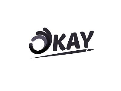 Okay angkritth design logo okay ok