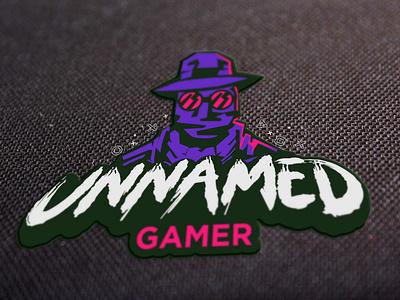 Unnamed Gamer logodesign hacker logo game gamer