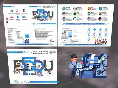 EDDU Booklet Design printer brochure booklet indesign book design book