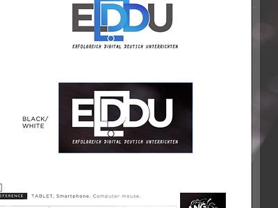 """""""Erfolgreich Digital Deutsch Unterrichten (EDDU)"""" smart tablet logo germany german eddu"""