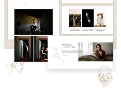Dear Vincent Wedding Photography Website