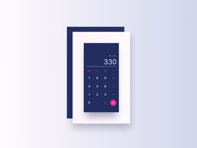 Daily UI 004 | Calculator ui design ui design figma calculator 004 daily ui dailyui