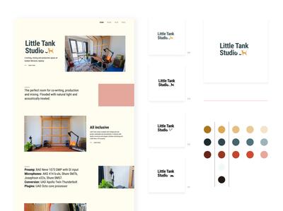 Little Tank Studio Web Design and Branding