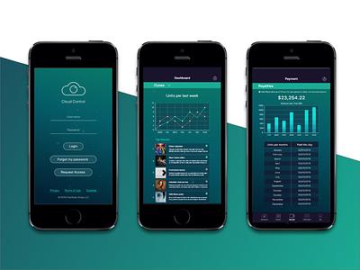 Music Industry Professsionals App mobile app app design music app industry music fresh minimal ux vector ui ios mobile design clean app