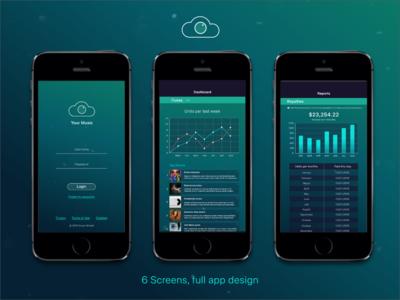 Music Industry Professional App