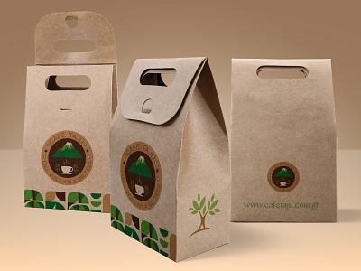 Bolsa ecologica color design logo illustration colors coffe cafe logo cafe