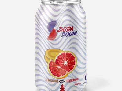 Mockup de una Soda mockup soda branding vector design logo colors color illustration
