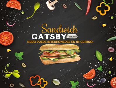 Anuncio de Comida gastronomy illustrator typography branding design color colors logo illustration