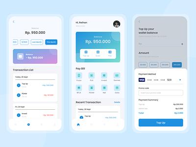 Fines App simpleui mobile finance financeapp dailyui ui