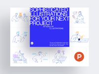 Afterclap Illustrations on Product Hunt