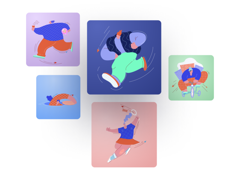 Candyshop Illustrations