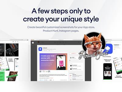 Layouts.today on Product Hunt uidesign presentation mockup mockups screen ux producthunt screenshot template