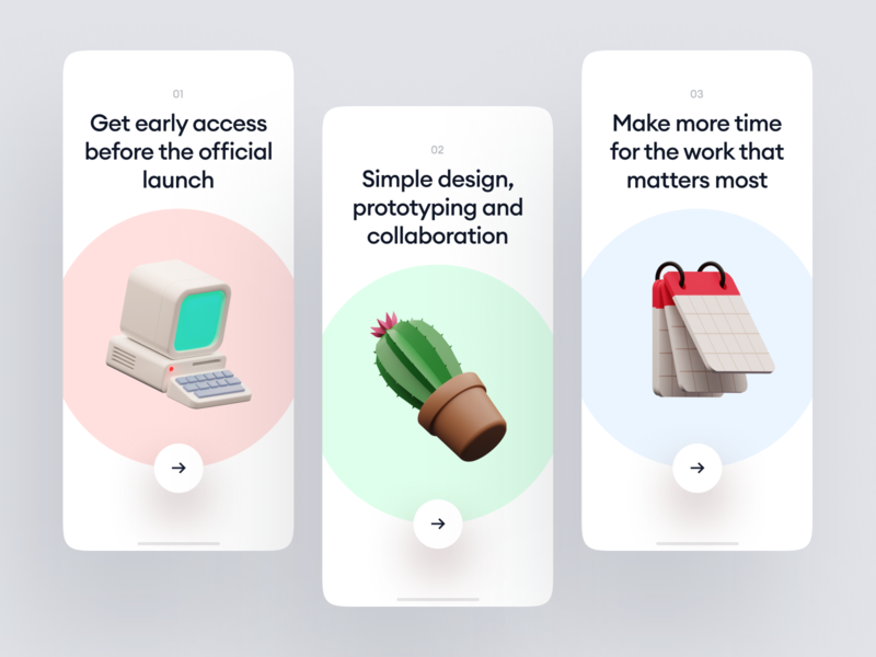 Superscene Objects + UI = ❤️ launch startup project elements ui design landing application presentation website web app constructor scene colorful bright characters illustrations 3d