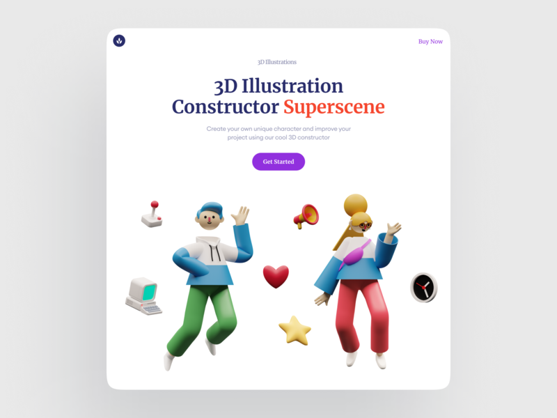 3d illustrations are amazing! ❤️