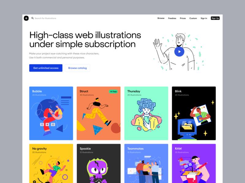 Introducing ✨ Storytale Platform svg landing uxdesign uidesign craftwork subscription 3d vector images figma sketch webdesign web illustrations ux ui web illustrations storytale