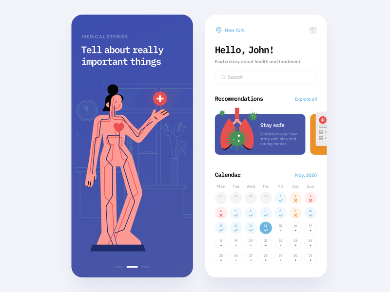 Call the Doctor Illustrations walkthrough vector app application craftwork illustration uidesign uiux ui appdesign medicine constructor