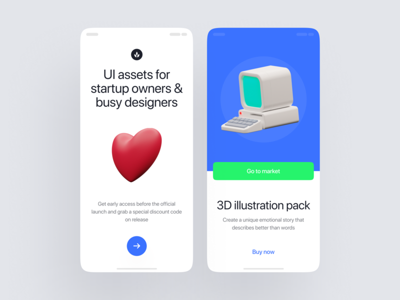 Superscene Illustrations launch startup project elements ui design landing application presentation website web app constructor scene colorful bright characters illustrations 3d