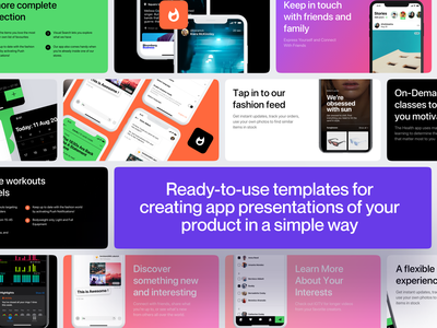 Layouts.today - Templates for app presentations apple uidesign uiux ui template builder screenshots screenshot template app ios app ios application craftwork web