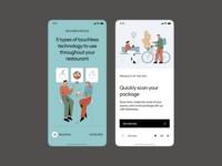 Introducing Ecommerce Illustrations 404 walkthrough illustration app svg application website landing craftwork vector web