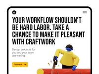 3DDD + Landings = 🥰 notification loading design delivery workflow education delete incredible modern trendy playful colorful unique cool volumetric blender illustrations craftwork 3d 3ddd
